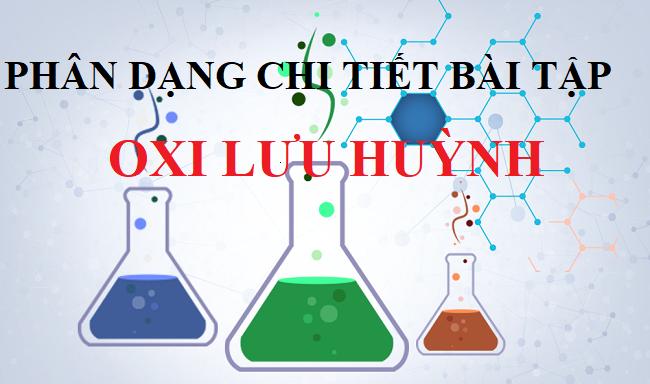 bài tập trắc nghiệm oxi lưu huỳnh