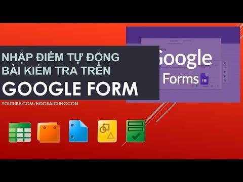 hướng dẫn sử dụng google form
