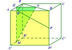 Hình hộp đứng ABCD.A'B'C'D' có đáy là hình bình hành