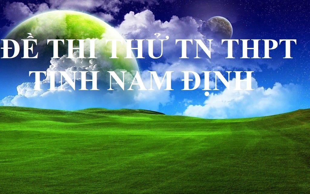 DE THI THU TN THPT 2020 MON HOA TINH NAM DINH