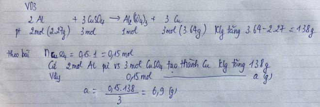 Phương pháp bảo toàn khối lượng VD3