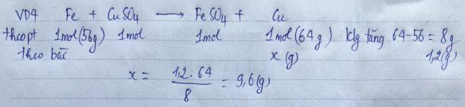 Phương pháp bảo toàn khối lượng VD4