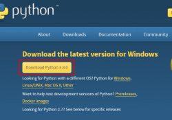 Sách hướng dẫn ngôn ngữ lập trình Python tiếng Việt