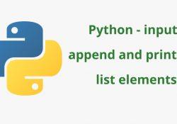 hàm print trong python