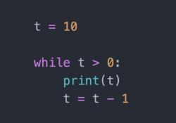 vòng lặp while trong Python