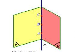 cách chứng minh ba điểm thẳng hàng trong không gian