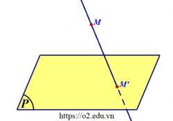 định nghĩa khái niệm phép chiếu xuyên tâm là gì