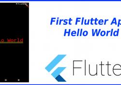 Viết app Hello World bằng Flutter