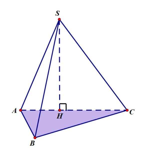 tính thể tích hình chóp có chứa một mặt phẳng vuông góc với đáy