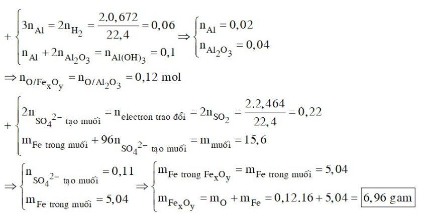 Thực hiện phản ứng nhiệt nhôm hỗn hợp gồm Al và m gam hai oxit sắt trong khí trơ, thu được hỗn hợp rắn X