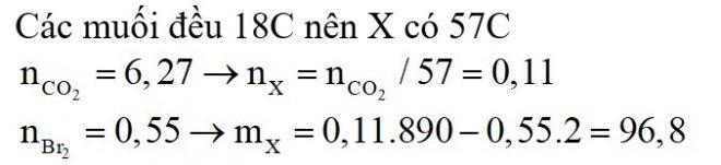 Thủy phân hoàn toàn chất béo X trong dung dịch NaOH thu được glixerol và hỗn hợp hai muối gồm natri oleat và natri linoleat