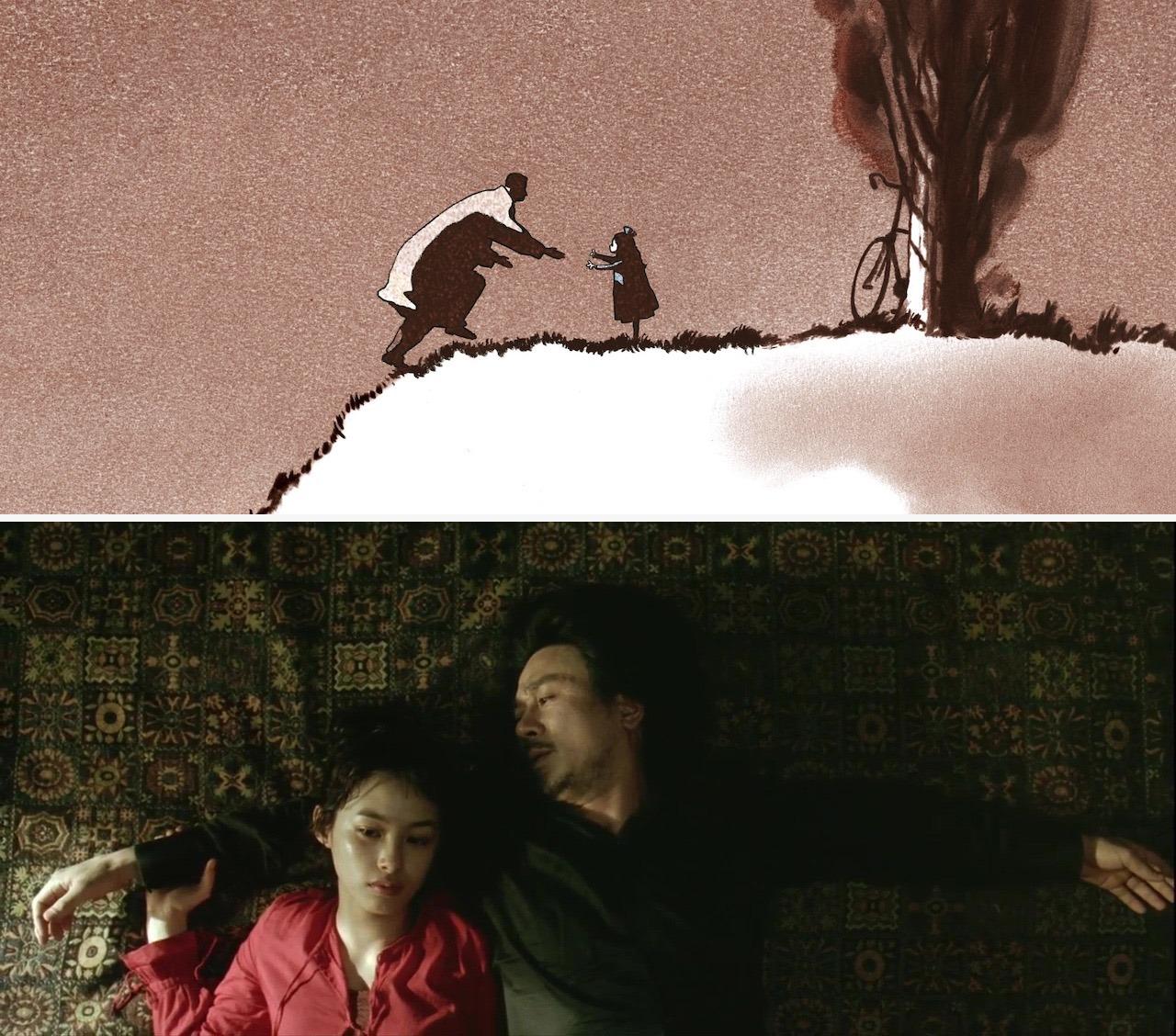 Father and Daughter, Michael Dudok de Wit, 2000 và Oldboy, Park Chan-wook, 2003 Hai bộ phim đáng xem về tình cha con.