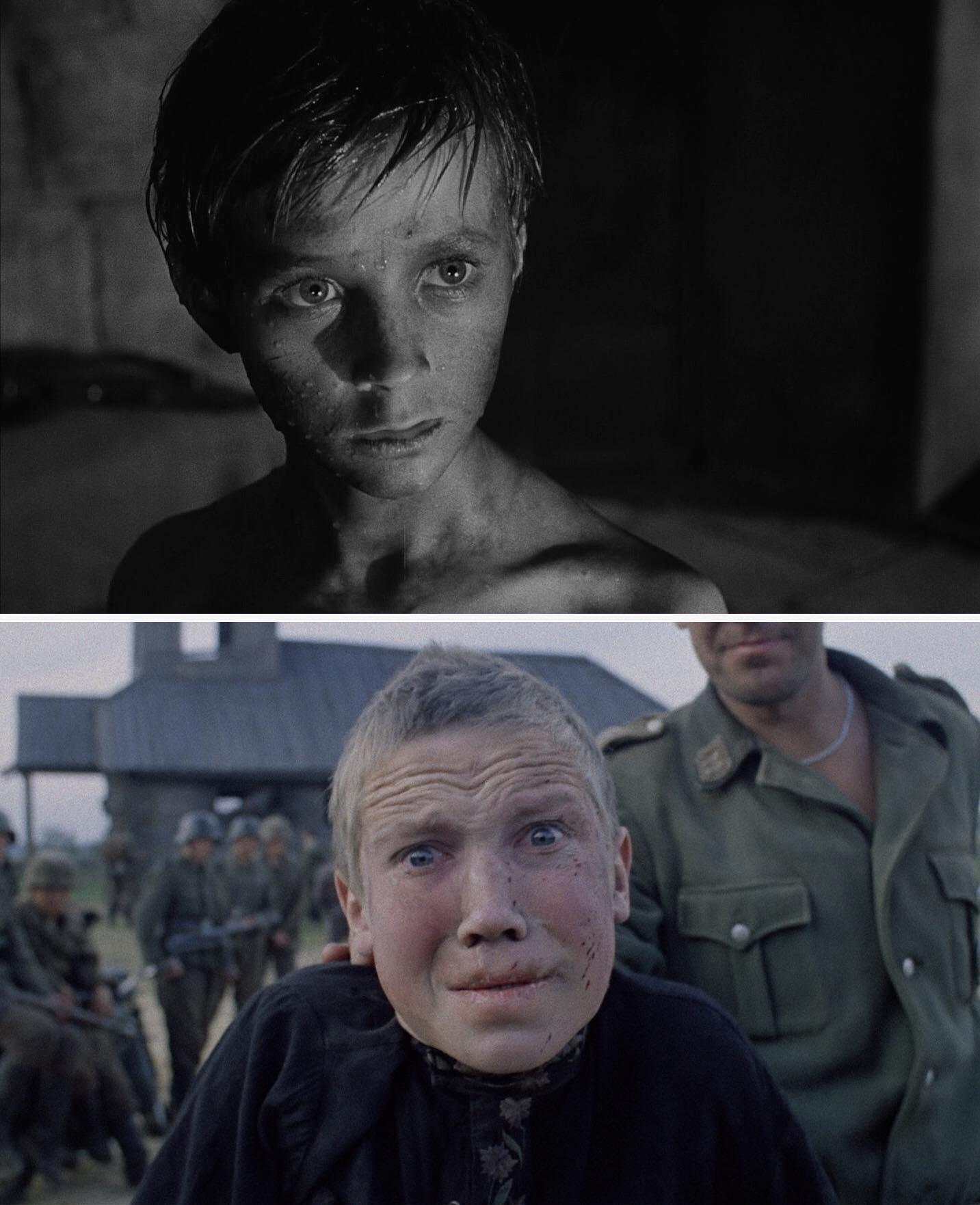 Ivan's Childhood, Andrei Tarkovsky, 1962 và Come and See, Elem Klimov, 1985