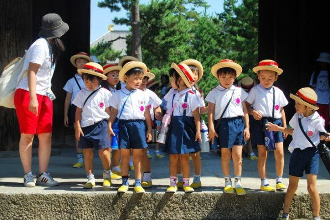 Lớp mầm non ở Nhật