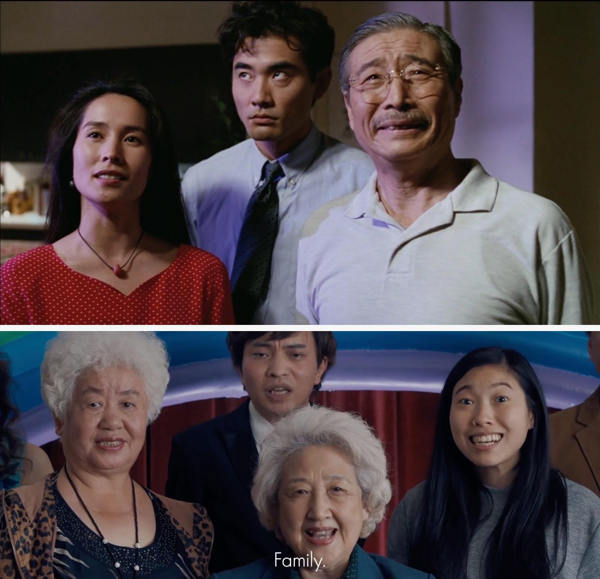 The Wedding Banquet, Ang Lee, 1993 và The Farewell, Lulu Wang, 2019