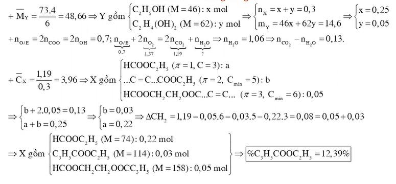 Hỗn hợp X gồm ba hợp chất hữu cơ chỉ chứa chức este và mạch hở trong đó có một chất đa chức không no chứa một liên kết đôi C C và hai chất đơn chức
