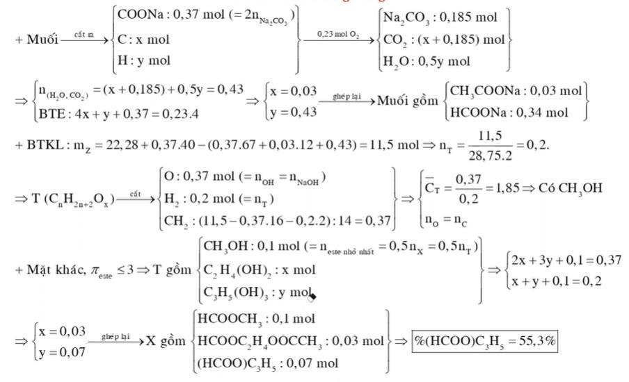 Hỗn hợp X gồm ba este mạch hở chỉ chứa một loại nhóm chức trong phân tử mỗi este có số liên kết pi không quá 3