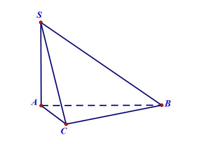 hình chóp có cạnh bên vuông góc với đáy