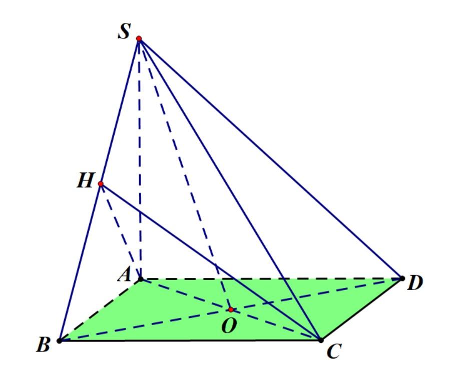 hướng dẫn tính góc giữa đường thẳng và mặt phẳng