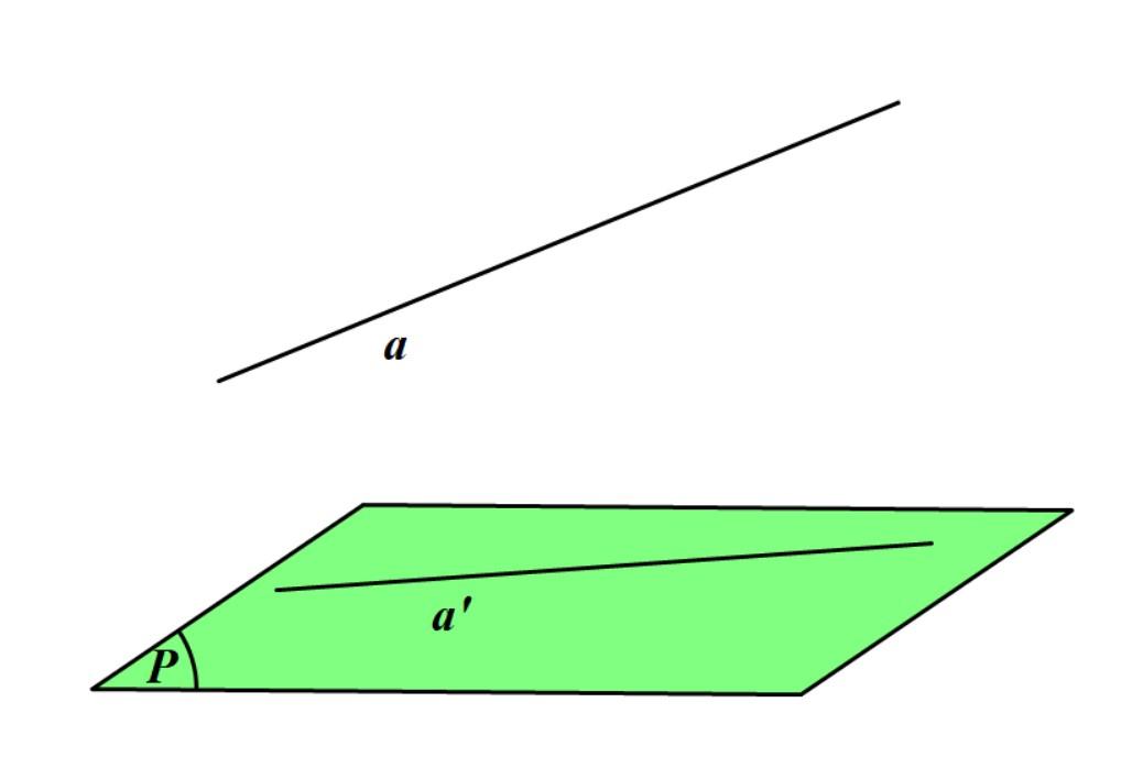 cách tính góc giữa đường thẳng và mặt phẳng lớp 11