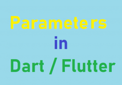 Named and positional parameters in Dart