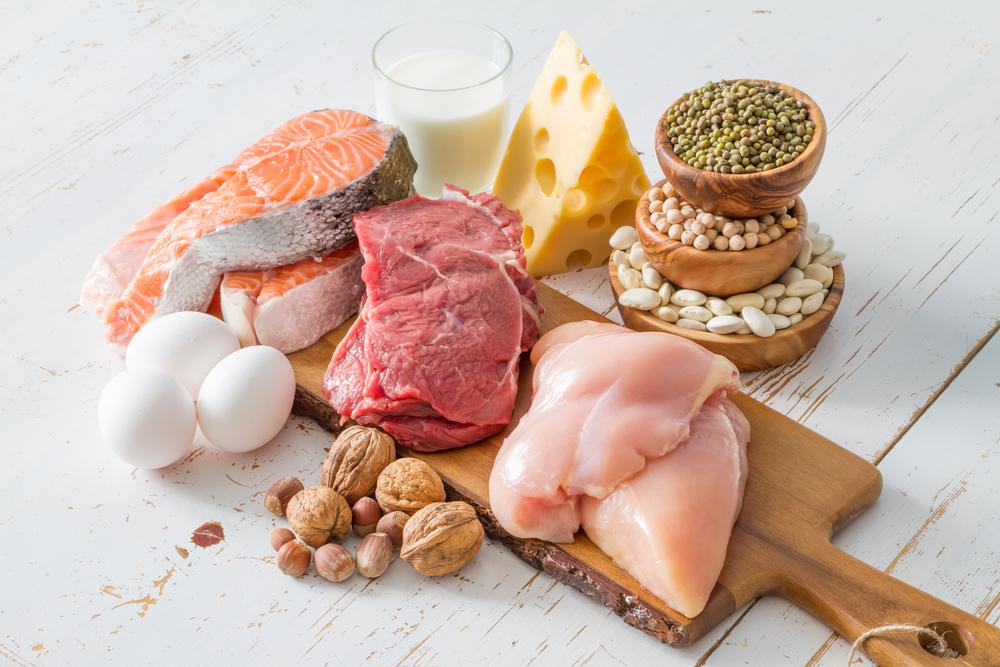 4 nhóm thực phẩm chính: protein