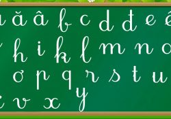 cách thuộc bảng chữ cái