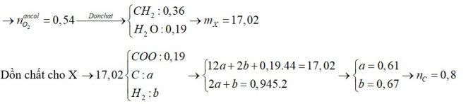 Cho hỗn hợp X gồm 6 este, đều mạch hở (không có nhóm chức khác). Đem đốt cháy m gam X thì cần vừa đủ 0,945 mol O2
