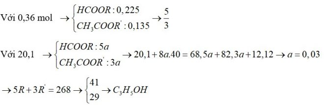 Lấy 0,36 mol hỗn hợp E chứa 2 este X, Y đều đơn chức, mạch hở tác dụng với dung dịch AgNO3 trong NH3 đun nóng