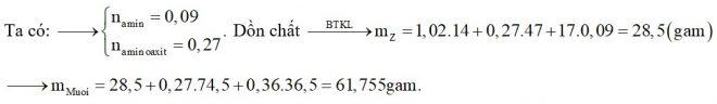 Hỗn hợp X chứa hai amin thuộc dãy đồng đẳng của metylamin. Hỗn hợp Y chứa hai α-amino axit thuộc dãy đồng đẳng của glyxin