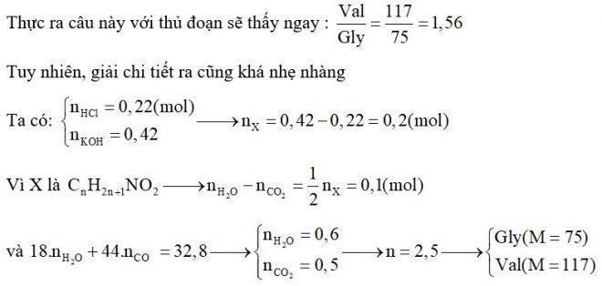 Cho a gam hỗn hợp X gồm hai α-aminoaxit no, hở chứa một nhóm amino, một nhóm cacboxyl tác dụng với 40,15 gam dung dịch HCl 20% thu được dung dịch A