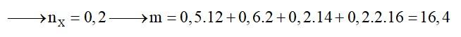 Đốt cháy hoàn toàn m gam hỗn hợp Y gồm glyxin, alanin và etyl aminoaxetat bằng lượng oxi vừa đủ, thu được N2; 11,2 lít khí CO2