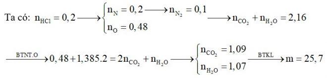 Hỗn hợp X gồm tristearin, axit glutamic, glyxin và Gly-Gly; trong đó tỉ lệ về khối lượng của nitơ và oxi tương ứng là 35 : 96