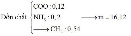 Hỗn hợp X chứa hai amin no, đơn chức, mạch hở thuộc đồng đẳng liên tiếp và một α-amino axit đồng đẳng của gly