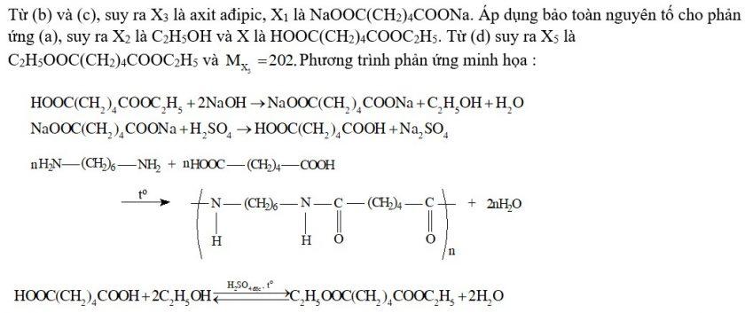 Hợp chất X có công thức C8H14O4. Từ X thực hiện các phản ứng (theo đúng tỉ lệ mol)