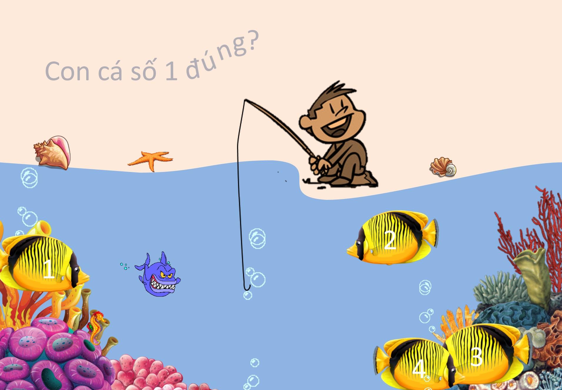 trò chơi câu cá powerpoint