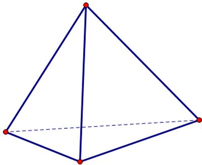 hình chóp tam giác